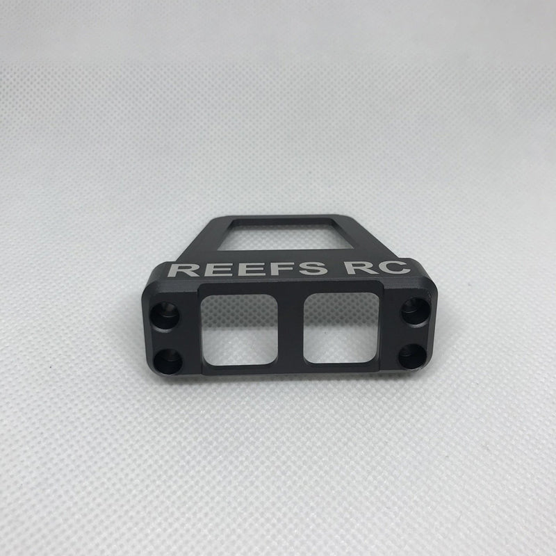 Reefs R/C CNC Machined Aluminum Servo Shield - Dark Gray