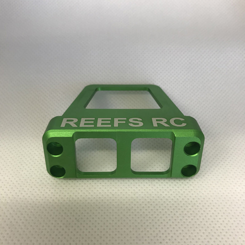 Reefs R/C CNC Machined Aluminum Servo Shield - Green