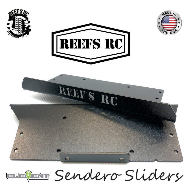Reefs R/C Hardened Steel Sendero Rock Sliders (pr.)