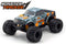 Kyosho Monster Tracker EP 2WD Monster Truck-Orange, Ready To Run