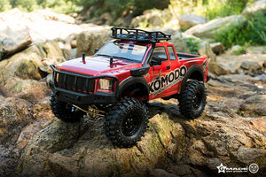 Gmade KOMODO Off-Road Adventure Vehicle Kit, 1/10 Scale, w/ a GS01 Chassis, and 4WD