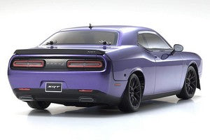 Kyosho FAZER Mk2 2015 Dodge Challenger Hellcat SRT RTR, Plum Crazy Purple, 1/10 Electric 4WD Touring Car