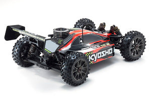 Kyosho Inferno Neo 3.0 Readyset RTR, Type 1, 1/8 Nitro 4WD Rally Sport Buggy, Red