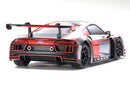 Kyosho MINI-Z RWD Audi R8 LMS 2016 Gray/Red MR-03 Readyset