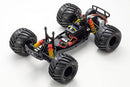Kyosho Monster Tracker EP 2WD Monster Truck-Green, Ready To Run