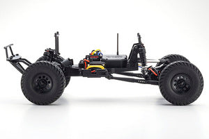Kyosho Outlaw Rampage 1/10 2wd 2SRA Electric Truck, White, Readyset