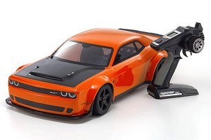 Kyosho Inferno GT2 VE Dodge Challenger SRT Demon Readyset 1/8 Touring Car, Go Mango