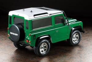 Tamiya Land Rover Defender 90 on CC-01 chassis