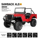 Gmade SAWBACK 4LS Off-Road Vehicle Kit, 1/10 Scale, w/ a GS01 Chassis, and 4WD