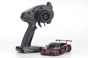 Kyosho MINI-Z Audi R8 LMS 2016 RTR, Black/Red, w/ MR-03 Chassis, RWD