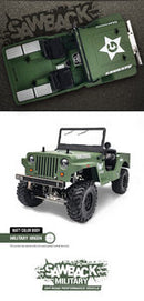 Gmade Military Sawback 4 LS 4WD Brushed Off- Road RTR, 1/10th Scale, w/ GS01 Chassis