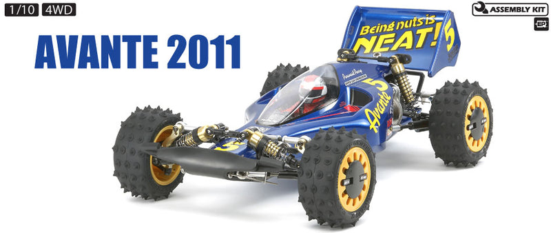 Tamiya 1/10 RC Avante 4WD Buggy Kit (2011)