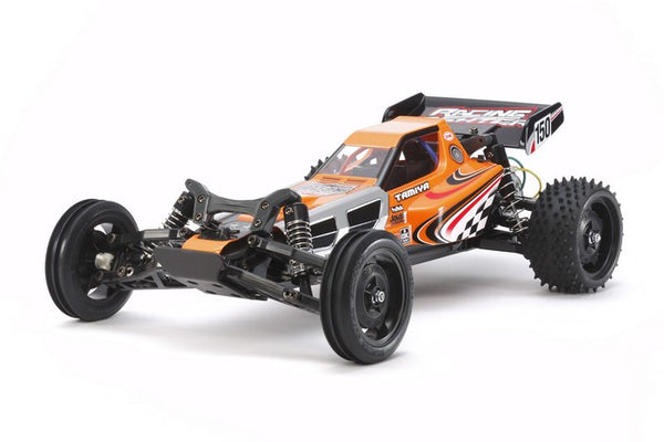 Tamiya RC Racing Fighter DT03 Kit, 1/10 Scale 2WD Brushed