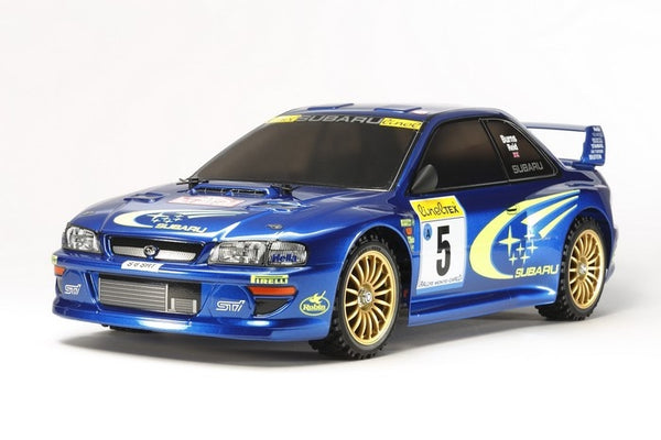Tamiya RC 1/10 Subaru Impreza Monte-Carlo '99 Rally Edition Kit, w/ TT-02 Chassis - Brushed