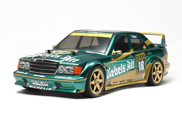 Tamiya RC Mercedes-Benz 190E, 2.5-16, TT01E Evo.II 1/10 Touring Car Kit, Team Zakspeed
