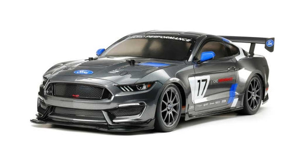 Tamiya 1/10 RC Ford Mustang GT4 Race Car Kit, w/ TT-02 Chassis