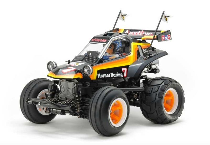 Tamiya 1/10 RC Comical Hornet Kit, w/ WR02CB Chassis