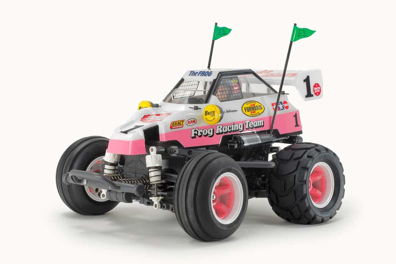Tamiya RC Comical Frog Kit, (WR-02CB)