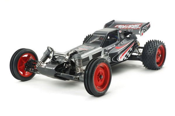 Tamiya RC DT03 Chassis Black Edition Kit, w/ Racing Fighter Body