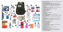 Load image into Gallery viewer, Premier Ultimate Student Emergency Survival Kit Checklist