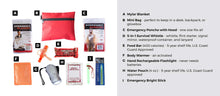 Load image into Gallery viewer, Child Safety Mini Portable Emergency Kit Checklist