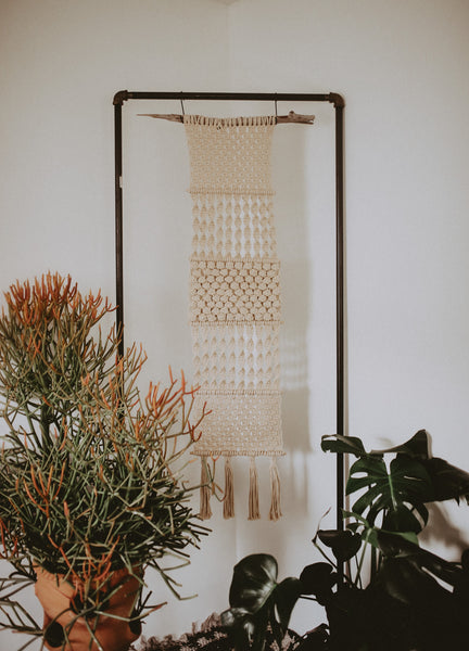 Long Large Macrame Hanger