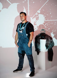All Directions Denim Overalls