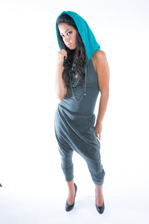 Light As Feather Hooded Jumpsuit