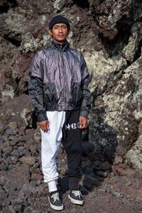 Lightening Bolt  Reflective Wind Breaker