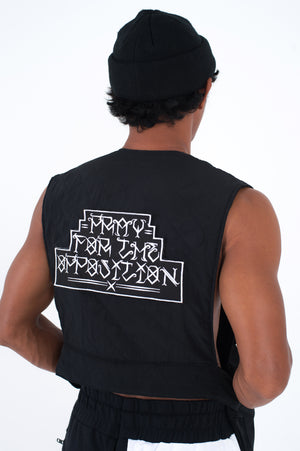 Reversible Embroidery New Earth Outlaw Vest