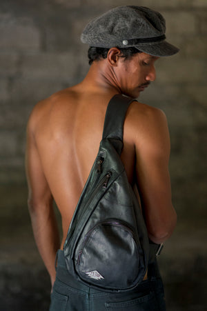 NEO's Leather Over The Shoulder Bag