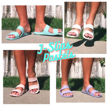 Load image into Gallery viewer, Kid's and Women's Pastel J-Slips