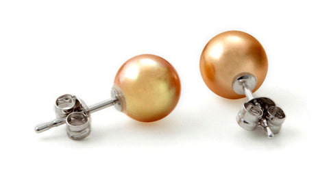 South Sea Gold Pearl Earrings