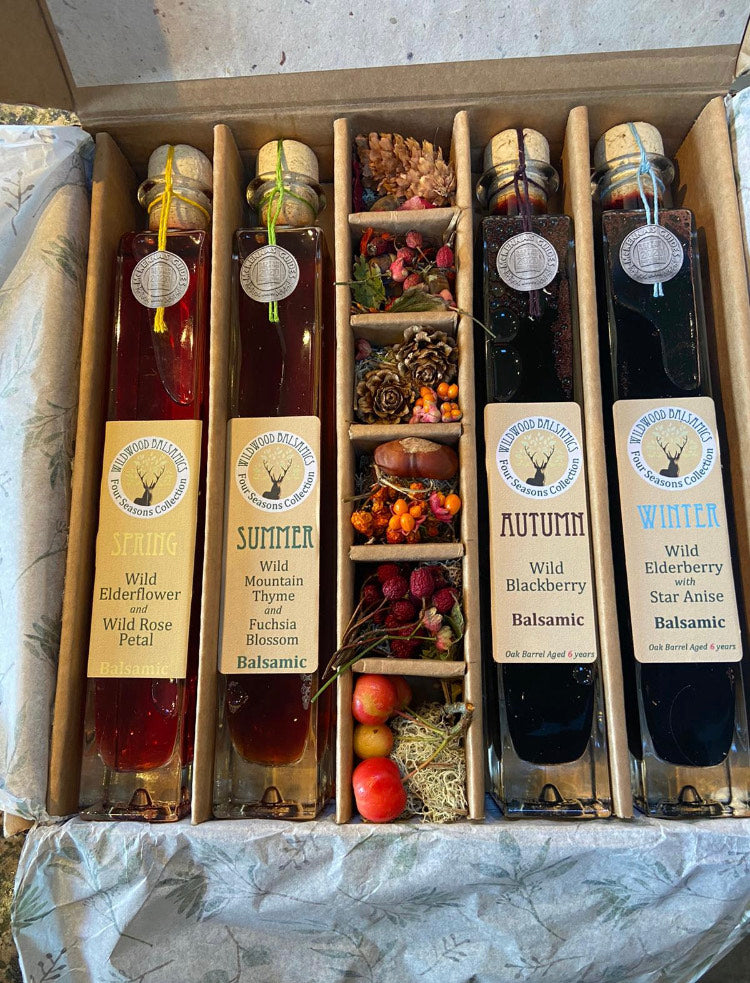 Wildwood Vinegar Four Season Collection Limited Edition, Only 365 Boxes Available