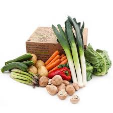 Click & Collect: Vegetable Box