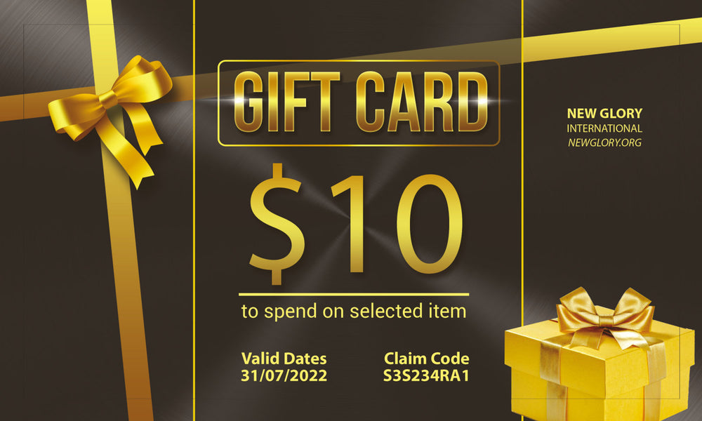 New Glory International Gift Card