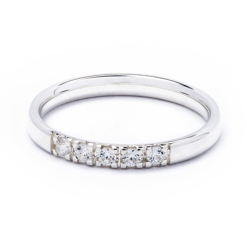 Half Eternity Diamond Ring 0.15ct