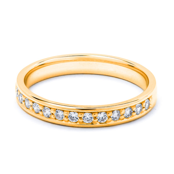 Eternity Diamond Ring 0.26ct
