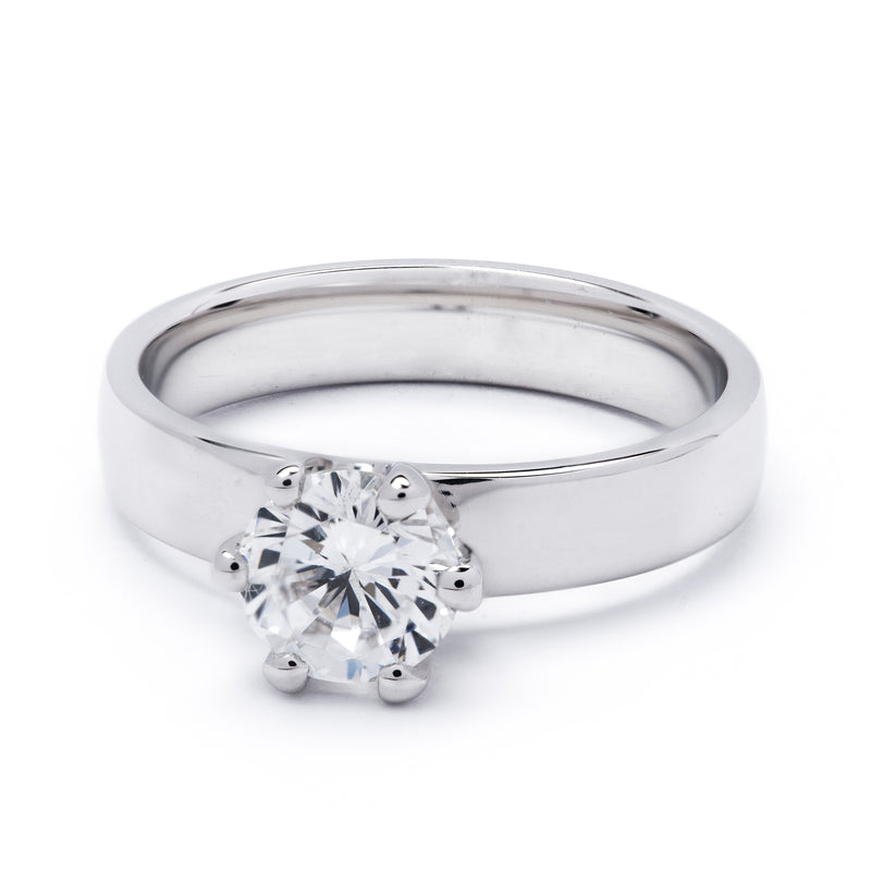 Solitaire Diamond Ring 1.00ct