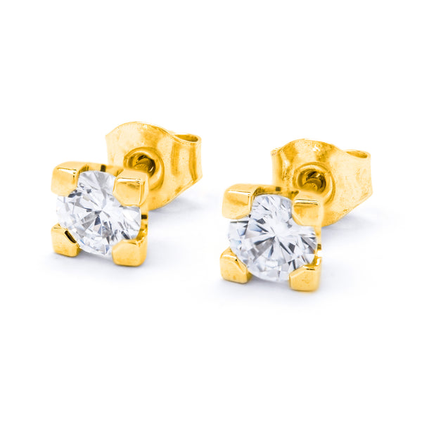 Diamond Earrings 0.80ct 4-claw