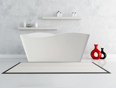 67-inch BT-15  Karton Republic  Modern Freestanding Bathtub (Acrylic)