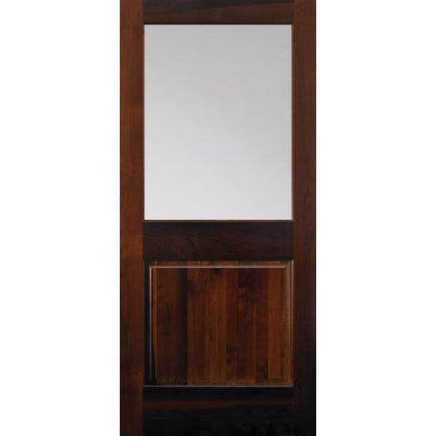 1 Lite (1/2) Over 1 Panel (2081)  MASONITE  Exterior Wooden Door