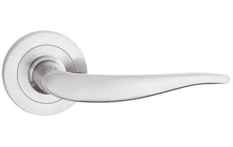 Monica  Nickel Satin  European Door Handle