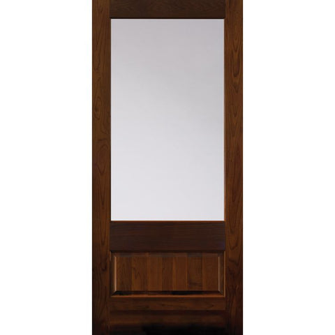 1 Lite (3/4) Over 1 Panel (501) | MASONITE | Exterior Wooden Door