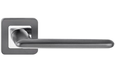 Iskra  Graphite  European Door Handle