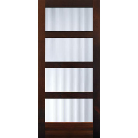 4 Panelite Equal (C40 w/glazing)  MASONITE  Exterior Wooden Door