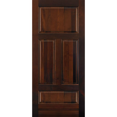 4 Panel Alternate 6 (C45)  MASONITE  Exterior Wooden Door
