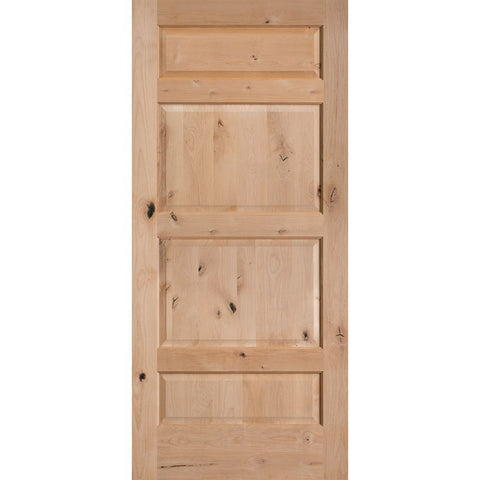 4 Panel Alternate 8 (C48)  MASONITE  Interior Wooden Door  Le Chateau Collection