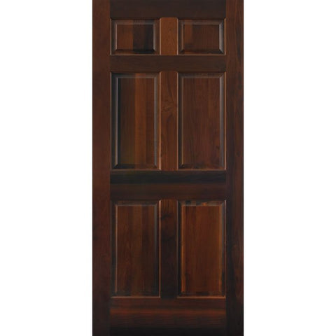 6 Panel Traditional (C66)  MASONITE  Exterior Wooden Door
