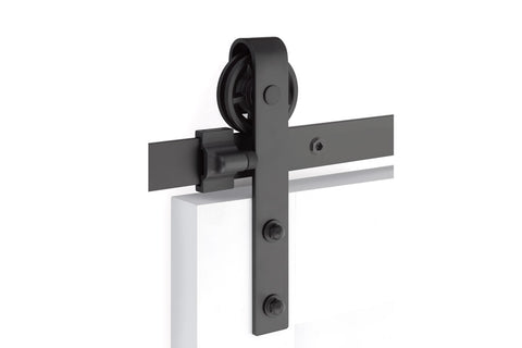 Classic Face Mount - Steel  EMTEK  Barn Door Hardware